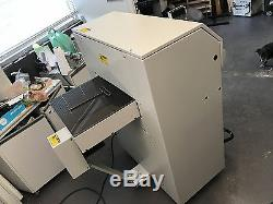 Challenge Titan 200 Programmable Hydraulic Paper Cutter 2004 Fully-Serviced