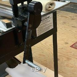 Charles Brand 16x30 etching press for intaglio, gravure and mono printing