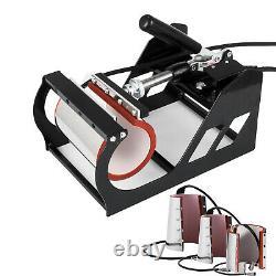 Combo Heat Press Machine 8 in 1 Digital Transfer Sublimation T-Shirt Swing Away