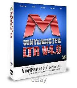 Cutting Software for Hobby & Craft with Vinyl Sign & Die Cutters VinylMaster LTR