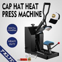 DIY Ball Cap Hat Heat Press Transfer Machine Sublimation Clam Shell Printer
