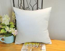 DIY Printing Plain White Sublimation Blanks Throw Pillow Case Cushion Cover 50pc