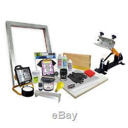 DIY Shocker© 101 Press Screen Printing Starter Beginner Kit 11-4