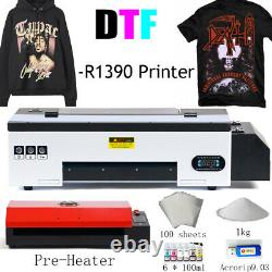 DTF Flatbed Printer Tshirt Personal DIY Printer for Home Business with Oven Heater
