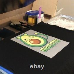 DTF Printer L1800 A3+ Bundle with Inks Powder Digital Transfer Film & Acrorip 9