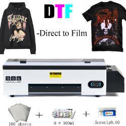 DTF Printer Tshirt Personal DIY Printer for Home Business Direct to Film Printer