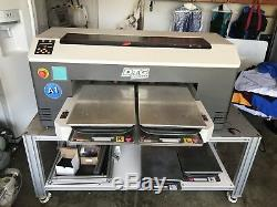 DTG M2 Direct to Garment T-Shirt Printer Use