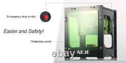 Desktop 1000mW Mini Laser Engraving Marking Machine Wood Engraver+Safety Window