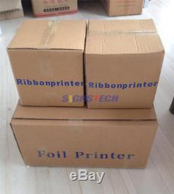 Desktop Digital Ribbon Printer Hot Foil Printing Machine Stamping 32mm