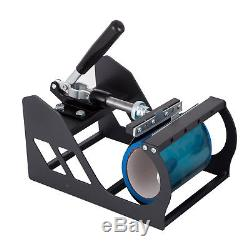Digital 15X12 Transfer Heat Press Machine Sublimation T-Shirt Cap Swing-away