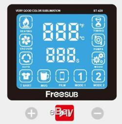 Digital 3D Sublimation Heat Transfer Machine 3D Vacuum Heat Press Machine ST-420