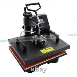 Digital 8 in 1 Transfer Heat Press Machine Sublimation for T-Shirt Cap Printing