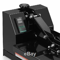 Digital Clamshell Heat Press Machine Transfer Kit Sublimation T-Shirt 15x15