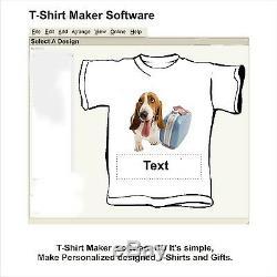 Digital Heat Press 15x15 Transfer Machine T-shirt Maker Start + Printer Epson