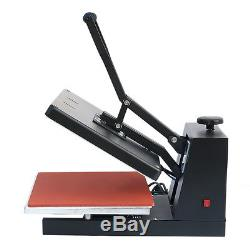 Digital Heat Transfer Machine T-Shirt Sublimation Printer Heat Press 15 x 15 G