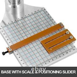 Digital Hot Foil Stamping Machine Leather PVC PU Card Embossing Bronzing 5x7CM