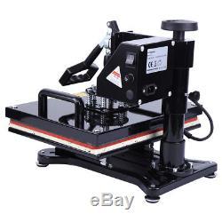 Digital Swing-away 12x15 T-shirt Heat Press Machine LCD Timer Temp Control