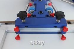 Double Rotary Manual 6-6 Color Silk Screen Printing Press Machine Adjust Printer