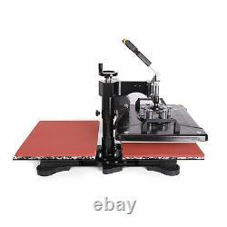 Double Station Heat Press 12x15 14 Vinyl Cutter Plotter Printer Sublimation