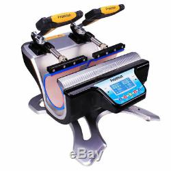 Double Station Mug Heat Press Machine For 10OZ 11OZ 15OZ 17OZ Cup Sublimation US