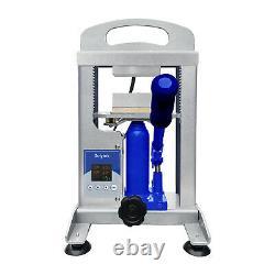 Dulytek DHP5 Hydraulic Heat Press, 5 Ton Force, Dual Heat 3 x 4 Plates