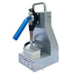 Dulytek DM800 Personal Rosin Press Dual Heat Plates Solventless Extraction