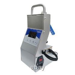 Dulytek DM800 Personal Rosin Press, Portable, 2.5x3 Plates, Free Starter Kit