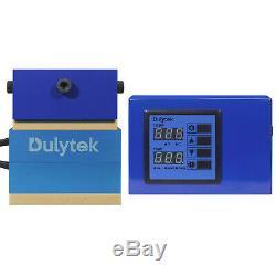 Dulytek Retrofit Rosin Heat Plate Kit, 3 x 4 Paired with 3 15 Ton Shop Presses