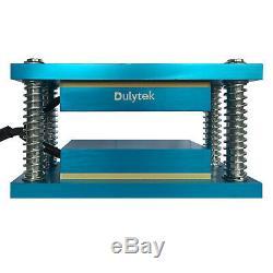 Dulytek Retrofit Rosin Heat Plate Kit, 3 x 6, Paired with 10 20 Ton Shop Press