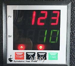 EPhotoInc Digital T Shirt Heat Press Machine Industrial Quality Transfer Press R