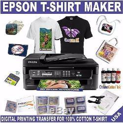 Epson Printer Bulk Cotton Ink Complete Start Pack Print T-shirt Bags Ac Moore