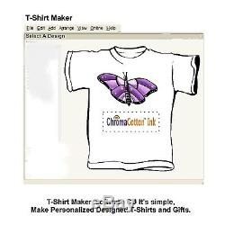Epson Printer C88 +t-shirt Maker Transfer 100% Cotton Ink Complete Starter Pack