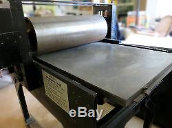 Etching Press built by Charles Brand, 22 X 44 press bed