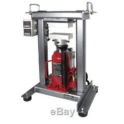FV ROSINTECH Table Top Rosin Press 3x5 Plates Dual Controller BYO 20 Ton JACK