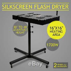Flash Dryer Silkscreen T shirt Screen Printing Curing 16x16