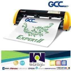 GCC Expert 24 HTV & Vinyl Cutter Plotter FREE Software + FREE Shipping