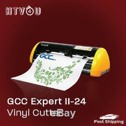 GCC Expert II-24 Vinyl Cutter Bundle FREE SHIPPING