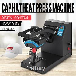 Golf Hat Cap Heat Press Machine Swing Away Sublimation Transfer Steel Frame DIY