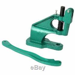 Grommet Machine Hand Press 3 Die (#0 #2 #4), 1500 Grommets Silver Eyelet BannerUS