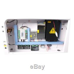 HL 100W CO2 Laser Engraving Machine Laser Cutter RECI W2 Tube CW5000 Chiller