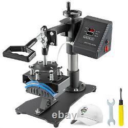 Hat Cap Heat Press 3.1x5.5 Digital Clamshell Transfer Sublimation Machine DIY