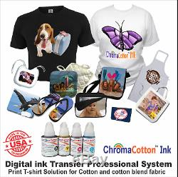 Heat Press 15x15 Machine Plus Canon Mega Tank Printer T-shirt Maker Start Pack