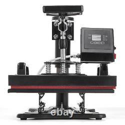 Heat Press Machine 12X10 Transfer Sublimation T-Shirt Plate Print Pattern