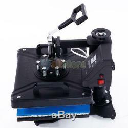 Heat Press Machine 5in1 Digital Transfer Sublimation DIY T-Shirt Mug Hat Plate