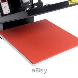 Heat Press T-Shirt Heat Transfer Sublimation Machine 15 x 15 Black Clamshel