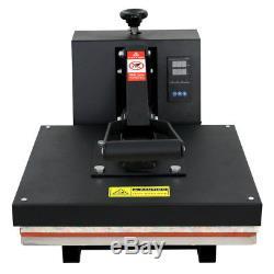 Heat Press T-Shirt Heat Transfer Sublimation Machine 15 x 15 Black Clamshell