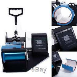 Heat Press Transfer Sublimation Machine Dual Digital for Cup Coffee Mug 11oz Hot