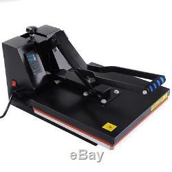 Heat Presses Transfer T-Shirt Sublimation Machine Digital Clamshell 15 x 15