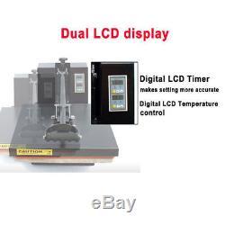 Heat Transfer Machine CLAMSHELL Digital Heat Press T-Shirt Sublimation 15 x 15