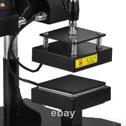 High Pressure Rosin Heat Press Machine Digital Dual Heating Elements Swing Away